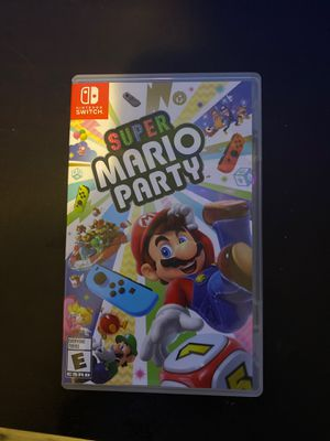 Mario party nintendo switch for Sale in Hialeah, FL