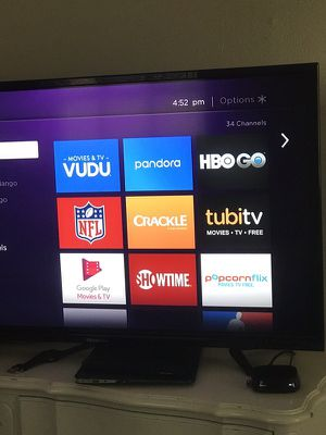 Roku 2 with remote and HDMI cable for Sale in Raleigh, NC