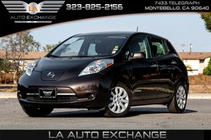 2017 Nissan LEAF for Sale in Montebello, CA