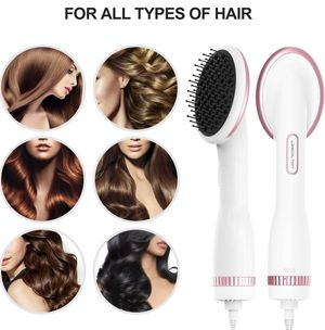 NEW One Step Hair Dryer & Styler Hot Air Paddle Brush | Hair Dryer Straightener For All Hair Types | Eliminate Frizzing, Tangled Hair & Knots, Promot for Sale in San Dimas, CA