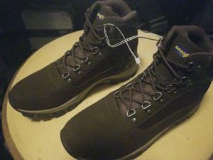 Goodyear Safety Work Boots Waterproof Ankle Mens Brown Leather Lace Size US 10.5 for Sale in Fort Lauderdale, FL