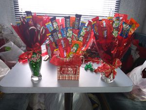 Christmas candy bouquets for Sale in Star Valley, AZ
