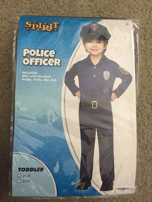 Police Officer Costume for Sale in Fairfax, VA