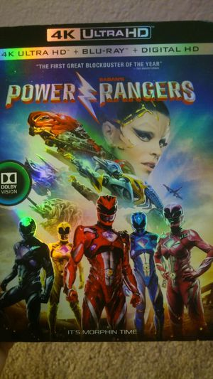 Power rangers 4k for Sale in Dallas, TX