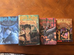 Harry Potter books 1,3,4,5 for Sale in Carmichael, CA