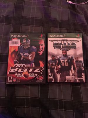 Ps2 nfl football blitz Lot for Sale in Davenport, IA