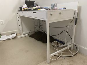 Ikea Desk and Drawer for Sale in Fairfax, VA