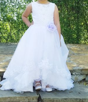 Flower girl dress and jacket for Sale in Garland, TX