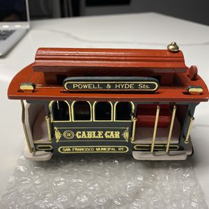 VINTAGE SAN FRANCISCO CABLE CAR #39 for Sale in Cliffside Park, NJ