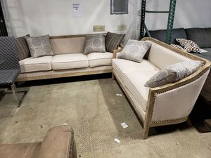 New 2pc set sofa and loveseat tax included free delivery for Sale in Hayward, CA
