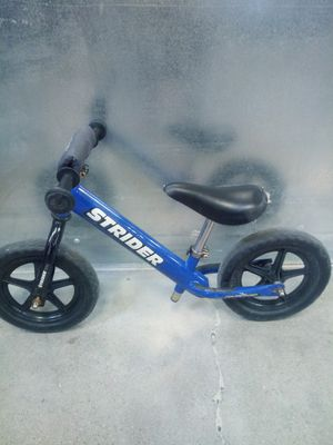 Strider Youth Kids Push Bike Blue for Sale in Colorado Springs, CO