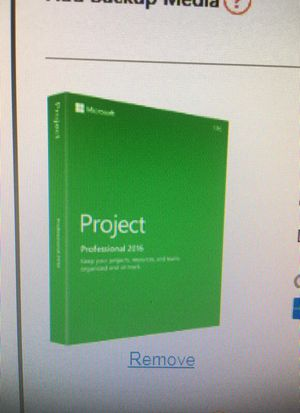 Microsoft Project Profesional 2016 for Sale in Warwick, RI