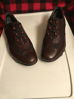 Gucci Italian leather loafers men's for Sale in Murray, UT