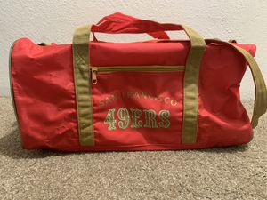 Vintage 49ers duffle bag for Sale in Salem, OR