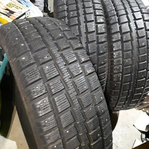Brand New Studded Tires Only 3 Though for Sale in Puyallup, WA