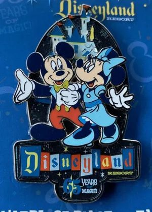 New 2020 Disney Disneyland 65th Anniversary Years of Magic Pin Mickey Minnie LR for Sale in Queens, NY