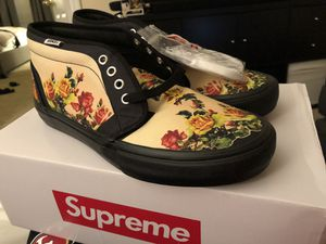 Supreme®/Vans® Jean Paul Gaultier® Floral Print Chukka Pro 9.5 for Sale in South San Francisco, CA