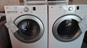 LG washer and electrical dryer for Sale in Riverside, CA