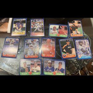 1986 Fleer Baseball Cards Lot Of 11 for Sale in Herndon, VA