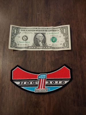 HARLEY OWNERS GROUP PATCH for Sale in Glendale, AZ