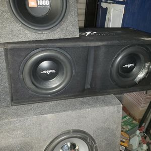 12 Inch Skar Speaker With Box for Sale in Glendale, AZ