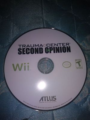 Trauma Center Second Opinion Wii 🎮 for Sale in NV, US