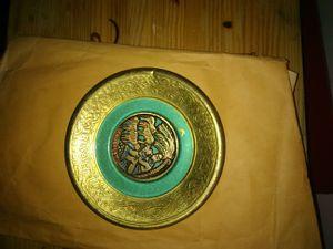 Brass decorative plate for Sale in Wichita, KS