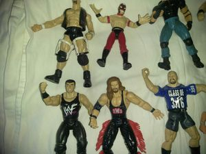 WCW wrestling Action figures for Sale in Casa Grande, AZ