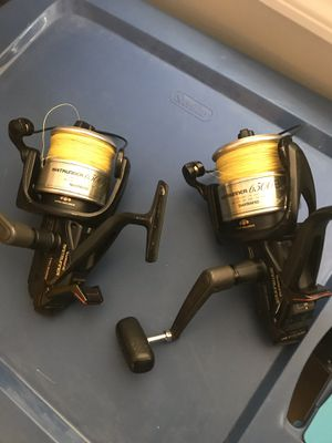 shimano baitrunner 6500B for Sale in Silver Spring, MD
