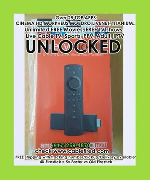 Ultra new Amazon fire TV Stick for Sale in New York, NY