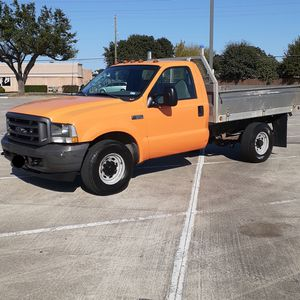 2004 Ford F-350 Flatbed for Sale in Spring, TX