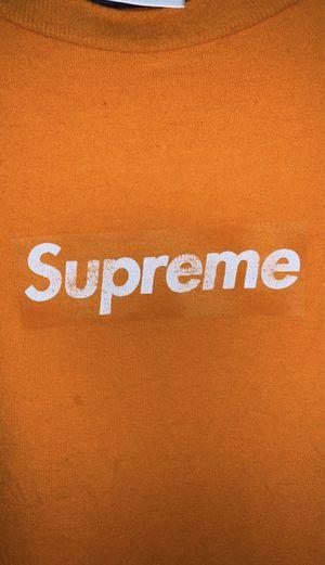 Supreme Orange on Orange box logo size XL for Sale in Garden Grove, CA