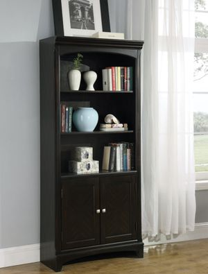 Bookcase shelves with storage like new original price $560 for office or home for Sale in HALNDLE BCH, FL