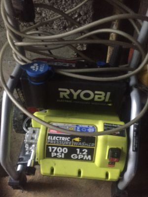 1700 psi electric pressure washer for Sale in Sharon, MA