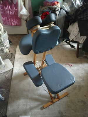 Custom craftworks professional seated massage chair for Sale in Milwaukie, OR