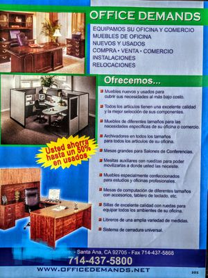 Office Furniture New and Used for Sale in Santa Ana, CA