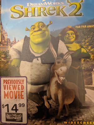 Shrek 2 DVD for Sale in Cedar Park, TX