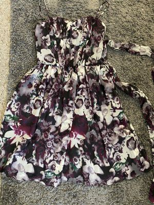 Dress: size 2, purple flowers for Sale in San Mateo, CA