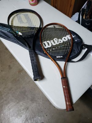 Tennis rackets and bag for Sale in Modesto, CA