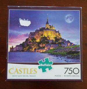 Buffalo Games Castle Puzzle Mont St Michel France 750 pieces for Sale in VLG WELLINGTN, FL