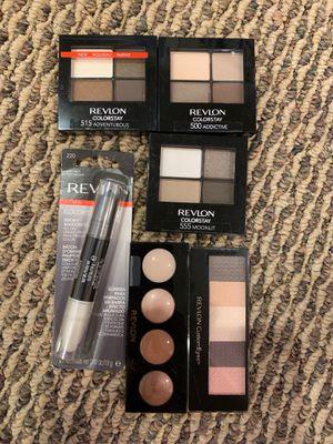 Revlon eyeshadow palettes or cream eyeshadow palette or Smokey shadow stick for Sale in Alexandria, VA