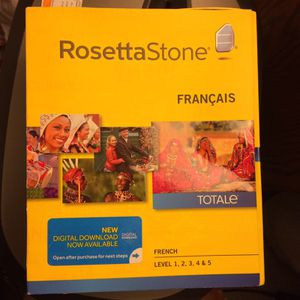RosettaStone French levels 1-5 for Sale in Milton, FL