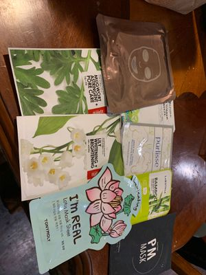 8 face masks perfect for stocking stuffers for Sale in Clovis, CA