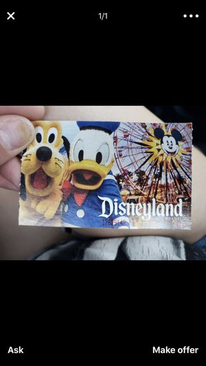 Disneyland tickets wanted for Sale in Modesto, CA
