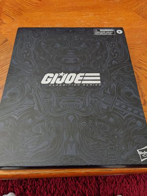 "HASBRO G.I.JOE CLASSIFIED SERIES SNAKE EYES DELUXE 6"" ACTION FIGURE EXCLUSIVE for Sale in Gilbert, AZ"