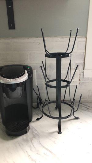 Black metal coffee mug holder for Sale in La Vergne, TN