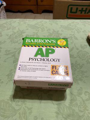 Barron's AP Psychology flash cards for Sale in Doral, FL