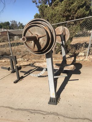 Workout bench for Sale in Norco, CA