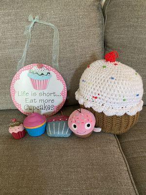Cupcake decor for Sale in Virginia Beach, VA