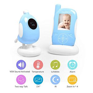 New Video Baby Monitor, 2.4 Inch LCD Display Baby Monitor Camera with Night Vision and Two Way Talk Shows for Sale in Brooklyn, NY